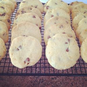 Gluten free chocolate chip and coconut cookies