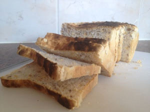 Laucke bread mixes are really easy to use. Add warm water to the mix and let it rise and then bake.
