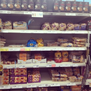 Tesco now have a great gluten free bread range. Stocking products from Warburtons, Genius, Udi as well as their own free from range.