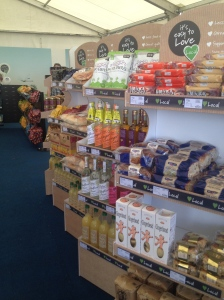They Lincolnshire Co-op are prod to stock lots of locally made food and drink.