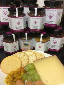A liitle Luxury makes a number of local chutnetys to go with your Lincolsnhire Ploughmans. (Picture Barbara Doughty).
