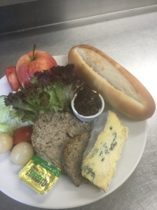Ploughmans with haslet