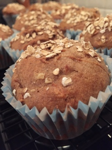 Gluten Free apple crumble cakes are the perfect winter cupcake.